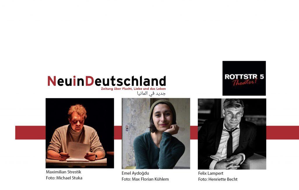 Lesung & CD-Release: 5. Dezember, Rottstr5-Theater