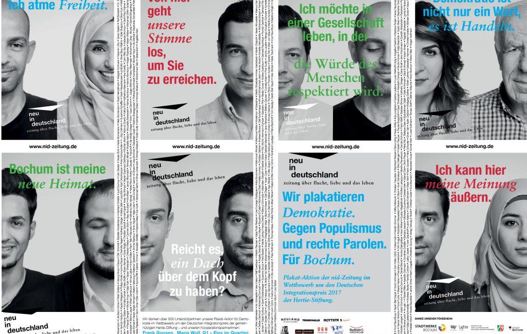 Plakate für Demokratie – Crowdfunding
