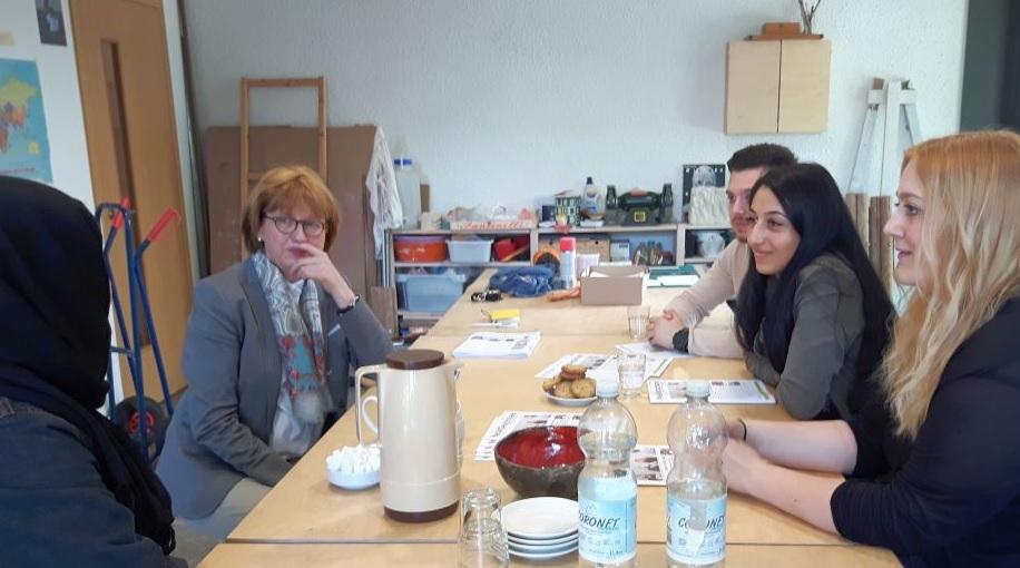 Neue Freunde an der Hochschule Bochum
