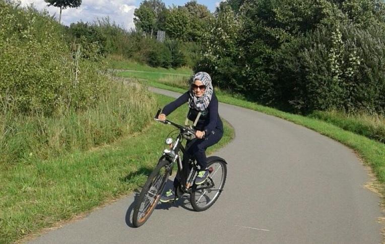 Fahren Frauen in Syrien Fahrrad?